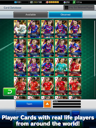 PES CARD COLLECTION modavailable screenshots 8