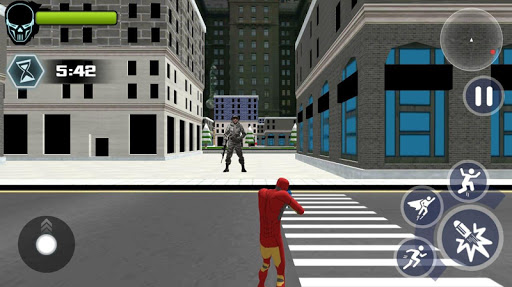 Super Iron Rope Hero - Vegas Fighting Crime 5.0.4 screenshots 3