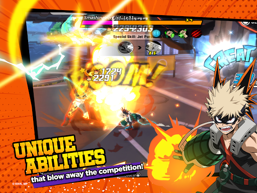 My Hero Academia: The Strongest Hero Anime RPG  screenshots 9