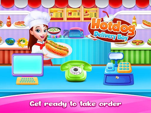 Hot dog Maker & Delivery game apkpoly screenshots 6