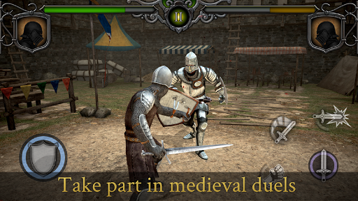 Télécharger Knights Fight: Medieval Arena APK MOD (Astuce) screenshots 1