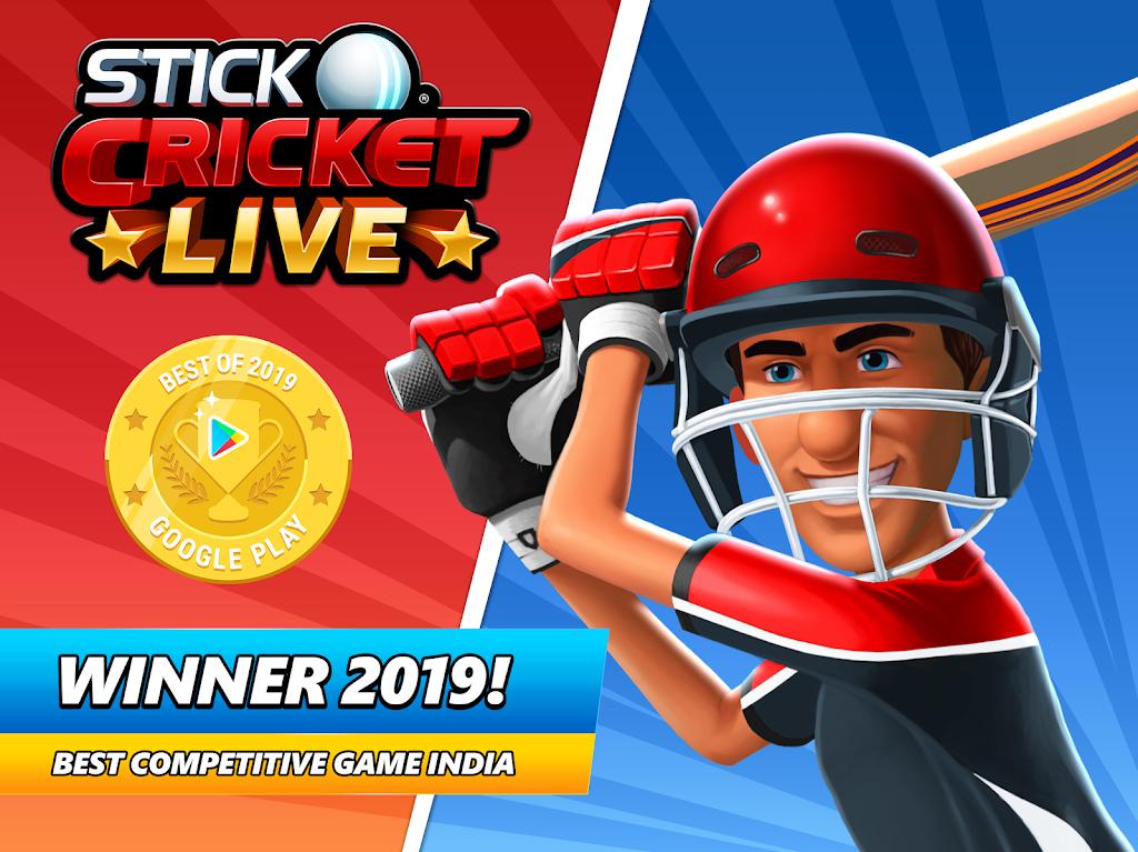 Stick Cricket Live 21 - Play 1v1 Cricket Games poster 23