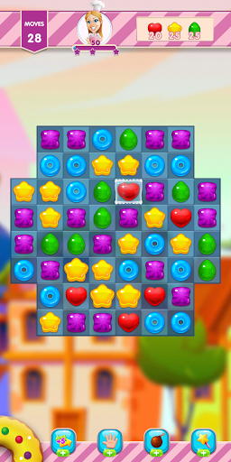 Sweet Jelly Crush Match 3 screenshot 5