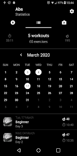 Six Pack in 30 Days. Abs Home Workout v1.12 (PRO) MOD APK 3