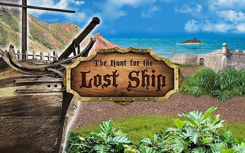 Schermata della nave perduta