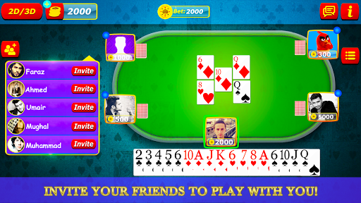 Bhabhi Thulla Online - 2020 Multiplayer cards game 3.0.8 screenshots 1