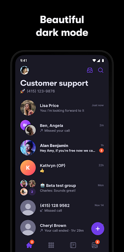OpenPhone: Second Phone Number 3.1.5 Screenshots 8