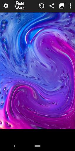 Fluid Simulation and Face Warp - Magic Fluids Free 2.6.0 screenshots 2