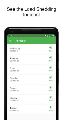 EskomSePush - The Load Shedding App  Screenshots 4
