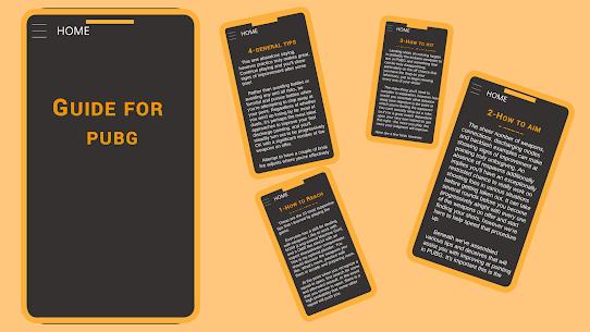 Guide for PUBG : tips & tricks 2020 2