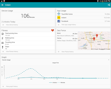 Instant - Quantified Self, Track Digital Wellbeing