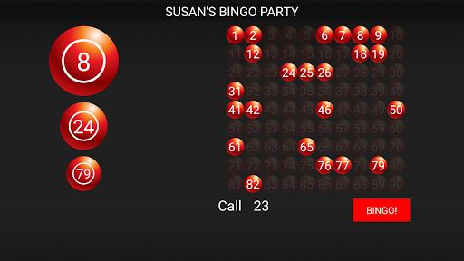 Bingo Caller Machine (free Bingo Calling App)  Screenshots 1