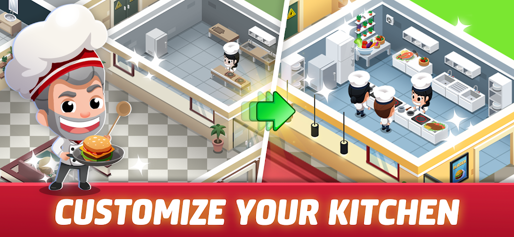 Idle Restaurant Tycoon - Cooking Restaurant Empire  poster 0