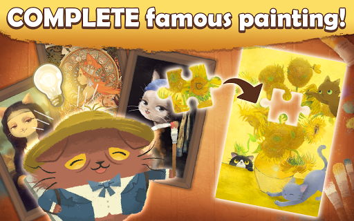 Cats Atelier - A Meow Match 3 Game 2.8.10 screenshots 3