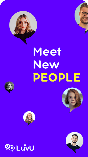 LuvU 2020 - Meet New People -Video Chat with Girls  Screenshots 1