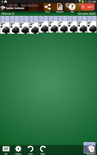 Spider Solitaire 1.2.14 screenshots 13
