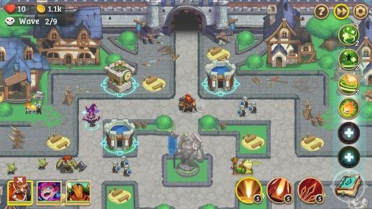 Empire Defender Strategy TD Offline Game Fantasy Apk Mod Download 1
