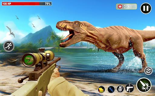 Dino Hunting 3d - Animal Sniper Shooting 2021  screenshots 4