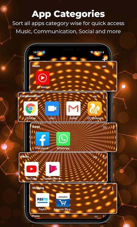 Alpha Launcher Prime💎 Wallpaper,DIY,Themes,Fast  poster 3
