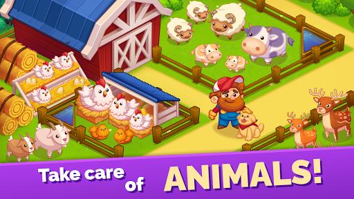 Mega Farm u2014 Idle Tycoon Clicker & Merge Simulator  screenshots 3