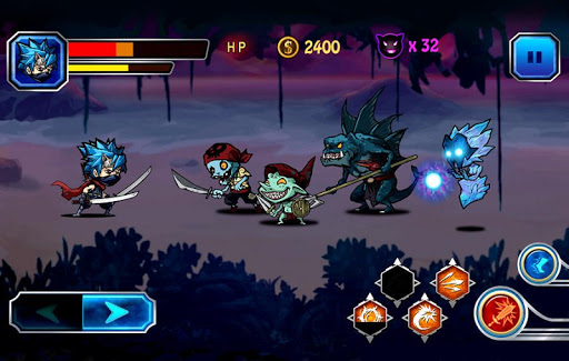 ninja fight screenshot 1