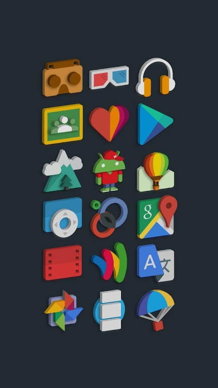 Tigad Pro Icon Pack  poster 8