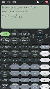 Scientific calculator 36 MOD APK, calc 36 plus (Premium) 3