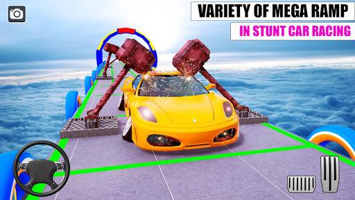 Ramp Car GT Racing Stunt Games 2020: New Car Games apkslow screenshots 5