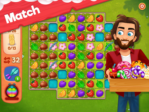 Delicious B&B: Match 3 game & Interactive story 1.15.6 screenshots 15