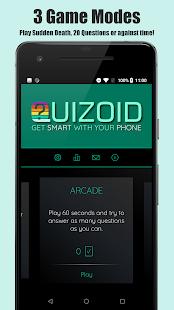 Quizoid: Offline Trivia Quiz 2020