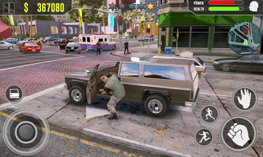 Code Triche Gangster Fight - Vegas Crime Survival Simulator APK MOD (Astuce) screenshots 2