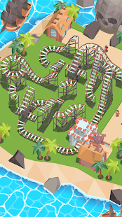 Coaster Builder: Roller Coaster 3D Puzzle Game 1.3.7 APK + Mod (Unlimited money) para Android