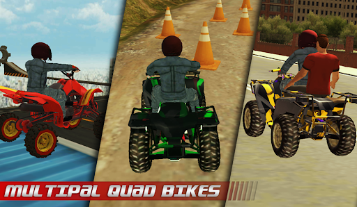 ATV Quad City Bike: Stunt Racing Game 1.0 screenshots 2