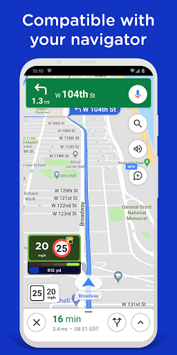 Radarbot Free: Speed Camera Detector & Speedometer 7.5.2 Screenshots 6
