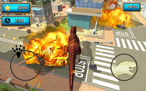 Dinosaur Simulator 2 Dino City  screenshots 9
