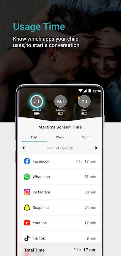 Keepers - Parental Control & Location Tracker App  Screenshots 3