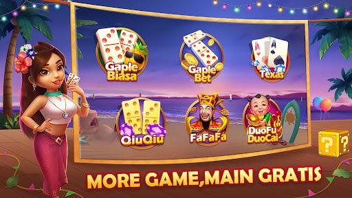 Domino QiuQiu Gaple Slots Online androidhappy screenshots 1