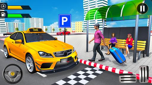 City Taxi Driving Simulator: Taxi Games 2020 apktram screenshots 9