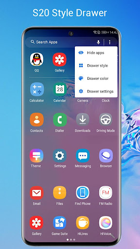 SO S20 Launcher for Galaxy S,S10/S9/S8 Theme 1.8 Screenshots 2