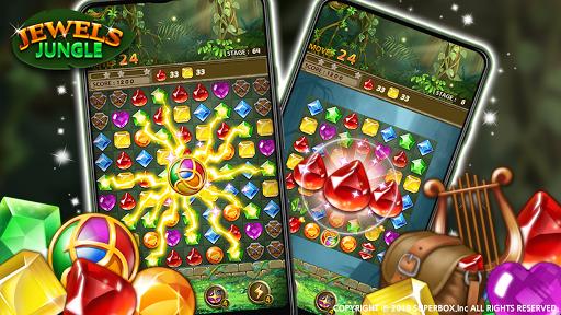 Jewels Jungle : Match 3 Puzzle apktram screenshots 2
