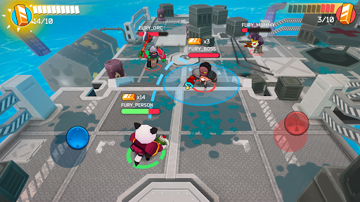 Fury Wars - online shooting game, third person.  screenshots 17