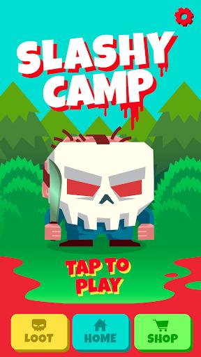 Slashy Camp modiapk screenshots 1