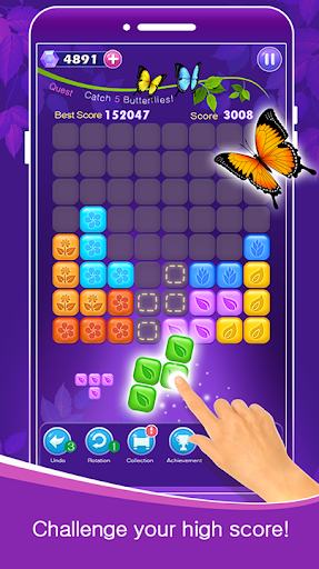 Block Puzzle - Beautiful Butterfly; Mission 1.0.22 screenshots 4
