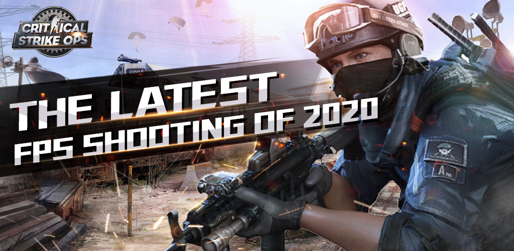 Critical Strike Ops - FPS 3D shooting Game Android App Screenshot
