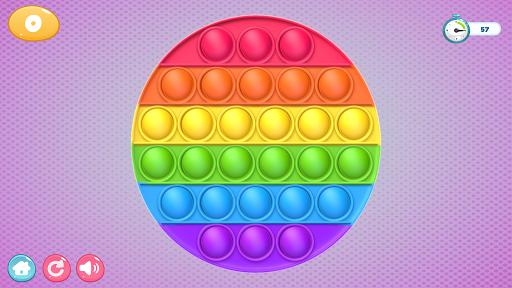 Pop It Sensory Zappeln Wu00fcrfel Spielzeug 3d  screenshots 4