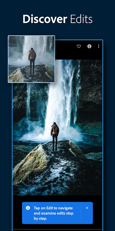 Adobe Lightroom - Photo Editor & Pro Camera poster 4