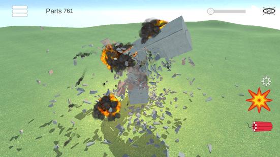 Destruction simulator: physics demolition sandbox 0.3.9 screenshots 4