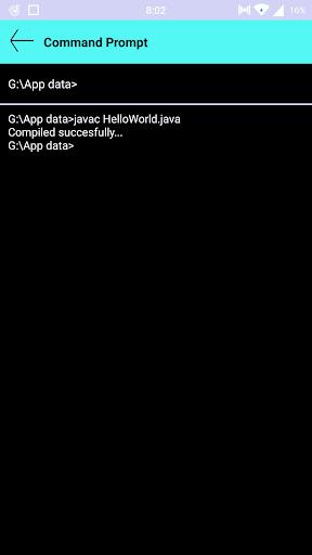 Command Prompt  Screenshots 6