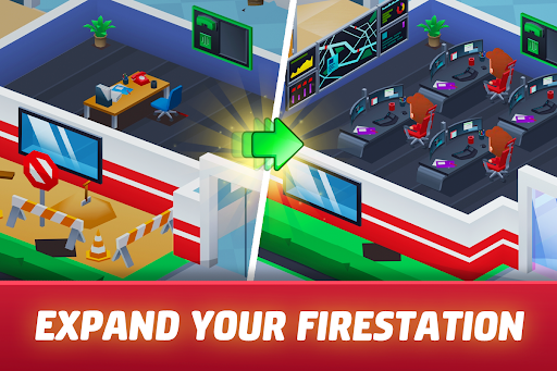 Idle Firefighter Tycoon - Fire Emergency Manager 0.14 screenshots 9