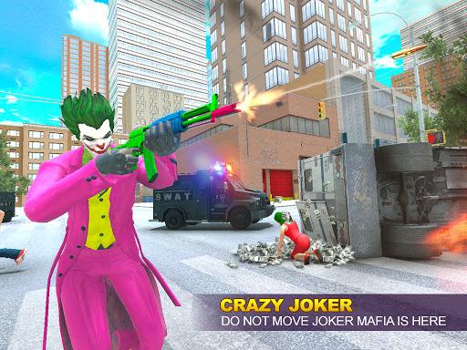 Grand Clown Crime City War: Gangster Crime Games modavailable screenshots 7